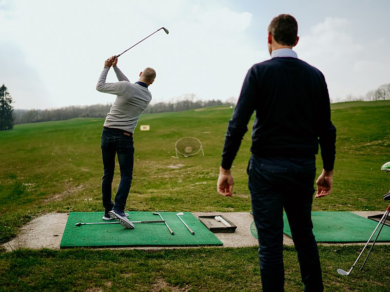Teambuilding golf